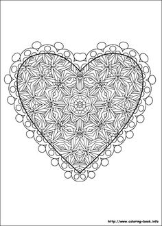 201 Best Coloring Valentines Day Images Coloring Books Zentangle