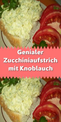Brilliant zucchini spread with garlic - Aufstriche - Especially in summer there are many barbecues and that& why it& cool to put something e - Brunch Recipes, Breakfast Recipes, Sauce Béarnaise, Sauce Alfredo, Benefits Of Potatoes, Green Salad Recipes, Party Snacks, Eating Habits, Finger Foods