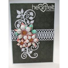 Heartfelt Creations - White Sun Kissed Cluster Project