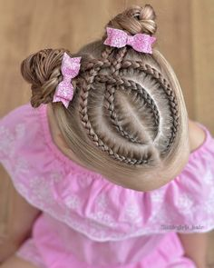 65 young girl's braid hairstyles mother could try for their princess - Page 11 of 32 - Beautrends para niñas Braided Hairstyles For School, Baby Girl Hairstyles, Braided Hairstyles Updo, Cute Hairstyles, Braids For Kids, Girls Braids, Hair Express, Girl Hair Dos, Cut My Hair