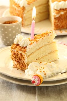 עוגת קוקוס חגיגית