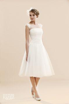 Couture Hayez abito sposa Corto