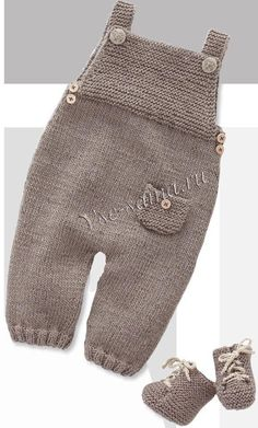 Рукодельный мир * Лебедянь* Babys Anziehen, Kids Knitting, Baby Knitting Patterns, Baby Patterns, Baby Overalls, Baby Pants, Tricot Baby, Knitted Baby Clothes, Close Image