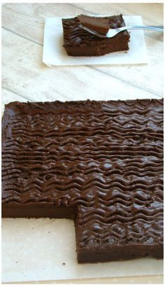 """GÂTEAU AU MASCARPONE ET CHOCOLAT"""" CYRIL LIGNAC"""" Cacao Recipes, Brownie Cookies, Chocolate Cake, Deserts, Food And Drink, Nutrition, Cooking, Breakfast, Cookies"""