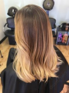 Golden honey blonde hair color for dirty blondes , layers, waves , easy maintenance