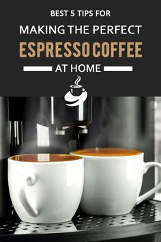 Best 5 Tips for Making the Perfect Espresso Coffee at Home - Cyrille Selbie Mint Coffee, Best Iced Coffee, Iced Coffee At Home, Blended Coffee, Espresso Recipes, Espresso Drinks, Espresso Coffee, Coffee Recipes, Coffee Coffee