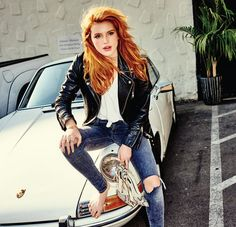 Bella Thorne (Photoshoots) - bella diva thorne 28229 - Celebrity Pictures @ Your favorite source for HQ photos / Pictures, Gallery, HQ, High Quality. Ferdinand Porsche, Bella Diva, Bella Thorne And Zendaya, Porsche Models, Classy Cars, Vintage Porsche, Car Girls, Girls 4, Madame