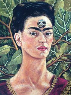Frida Kahlo self portrait - mamawolfe