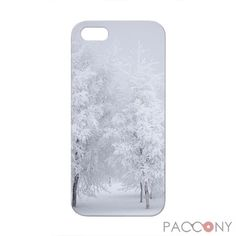 Winter Trees Pattern Protective Hard Cases for iPhone 5