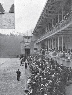 Frontón Jai Alai de Donosti - La Ilustración Artística 1-8-1910