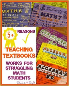 5+ Reasons Teaching Textbooks Works for Struggling Math Students - StartsAtEight