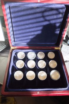 1976 Montreal Olympics Silver Coins 12  x 5 dollars  (1973 - 1976)  Quality Display case is included by FromDECOtoDISCO on Etsy