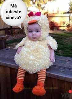 Buy Baby Cute Chick Cosplay Costume Cartton Rompers Infant Baby Jumpers Kids Baby Outfits Clothes at Wish - Shopping Made Fun Baby Duck Costume, Primer Halloween, Funny Baby Costumes, Costume Garçon, Cute Baby Halloween Costumes, Duck Costumes, Fete Halloween, Halloween Costume Contest, First Halloween