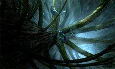 Avatar Concept Art by Seth Engstrom