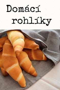 Nejlepší domácí rohlíky podle Kubíka, kynuté pečivo, podrobný recept. #rohliky #domacipecivo Bread Dough Recipe, Sweet Dough, Wicked Good, Czech Recipes, Hot Dog Buns, Food And Drink, Yummy Food, Healthy Recipes, Snacks