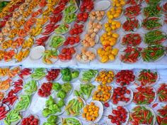 Chillies, at Gloria's Sunday market, Rio.