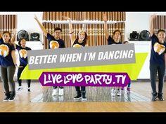 Better When I'm Dancin by Meghan Trainor | Zumba® | Live Love Party - YouTube