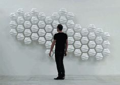 Interactive wall by Thibaut Sld