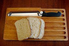 Adjustable Slicing Knife Cutting Board Set  by RedDressHanger