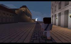 Fisucraft_kiirastorstai_2 Jerusalem, Minecraft, Louvre, Selfie, Tie, Building, Travel, Viajes, Cravat Tie