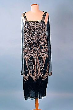 1920s Beaded Gown.