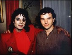 Michael Jackson and Nate Giorgio - a very special friendship between great artists