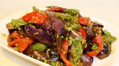 Chinese Style eggplant - really nice sauce