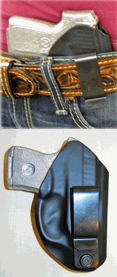 Betty Holster - $39.99 - I like the ability to clip on a belt IWB or to the top of a cowboy boot