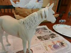 clay horses - Google Search