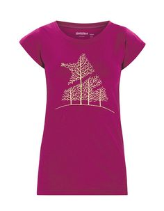 TREESOME | Women's T-Shirt | Fall / Winter Collection 2012 / 2013 | www.zimtstern.com | #zimtstern #fall #winter #collection #womens #tshirt #tee #shirt #street #wear #streetwear #clothing #apparel #fabric #textile #snow #skate
