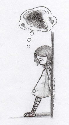 Trying to keep going through the grief that fills my mind...    ...sadness... by FayeMarcik.deviantart.com