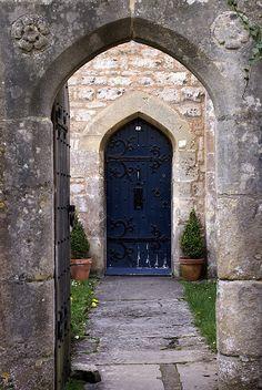 Blue Door by The Green Album, via Flickr