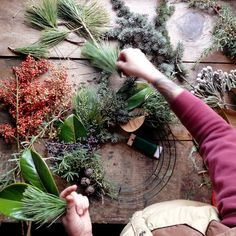 how make it - love these wreaths!