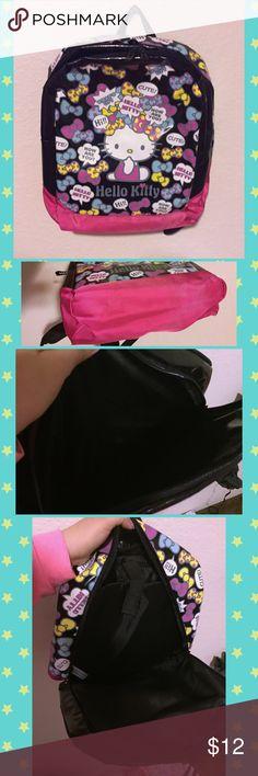 Hello Kitty Kawaii Backpack Like New hello kitty kawaii backpack • has laptop protection sleeve and adjustable shoulder straps Hello Kitty Bags Backpacks
