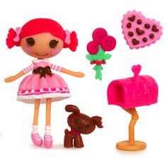 Mini Lalaloopsy - Toffee Cocoa Cuddles - First Edition - Series 6/8