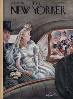 The New Yorker - Saturday, June 20, 1942 - Issue # 905 - Vol. 18 - N° 18 - Cover  by Constantin Alajalov