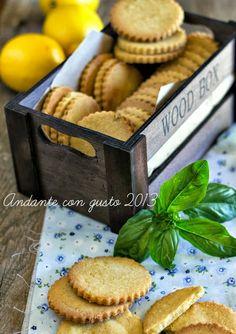 Andante con gusto: Biscottoni di farina Verna, con olio extravergine, limone e basilico