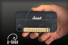 iPhone 4 case Vintage Marshall Guitar Amp design by aGoGoDesign,