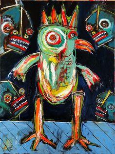 matt sesow recent paintings