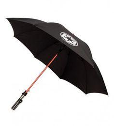 darth vadar light saber umbrella
