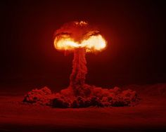 How to Photograph an Atomic Bomb: Plumbbob Hood, 74 kilotons, Nevada Test Site, July 5, 1957.