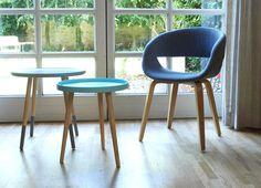 Stühle - LIVING PURE Tisch T4 / Design aus dem Norden - ein Designerstück von Form21 bei DaWanda