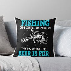 Fishing T Shirts, It Is Finished, Throw Pillows, Printed, Awesome, Shopping, Design, Products, Art