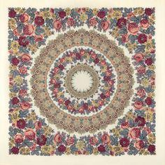 Молитва 0 * Павловопосадские платки и шали * Russian Pavlovo Posad shawls