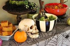 Adult Halloween Party Menu   Recipe Girl
