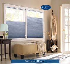 Hot Tip: Trim Cellular Shades to the Perfect Size Cellular Blinds, Cellular Shades, Condo Living, Living Room, Pelmet Box, Honeycomb Shades, Buy My House, Home Upgrades, Apartment Therapy
