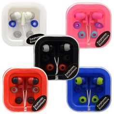 Digital Earbuds in Plastic Carrying Case