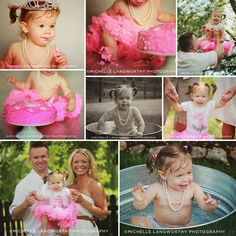 #firstbirthdayphotoshoot #cakesmash #oneyearoldphotosession | Michelle Langworthy Photography