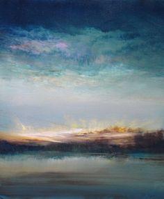 """""""Aquamarine Morning""""  Maurice Sapiro"""