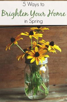 5 Ways to Brighten Your Home in Spring | The Humbled Homemaker
